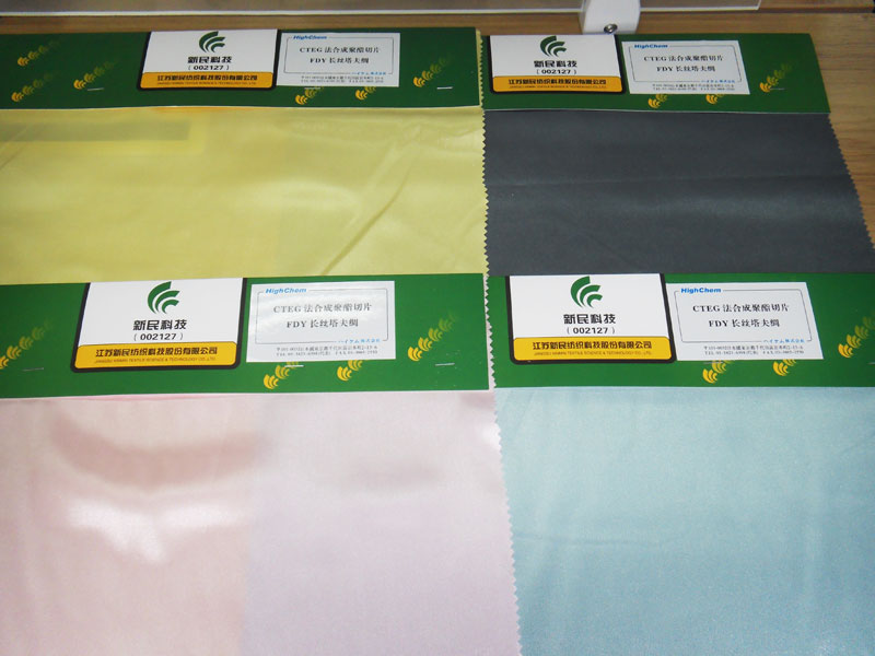 Dyeing cloth samples